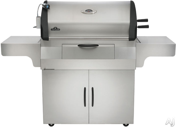 """Napoleon Mirage Series M605RBCSS1 70"""" Freestanding Charcoal Grill with 605 sq. in. Primary Cooking, U.S. & Canada M605RBCSS1"""