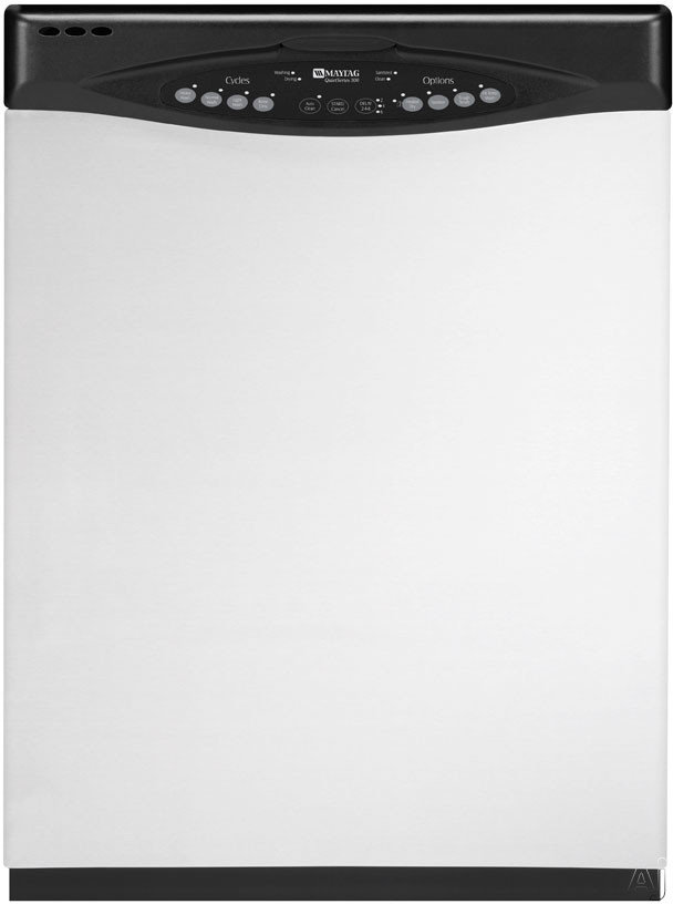 Maytag JetClean II Series MDB5601AWS Full Console Dishwasher With 5 Wash Cycles And Precision Clean Sensor Stainless Steel