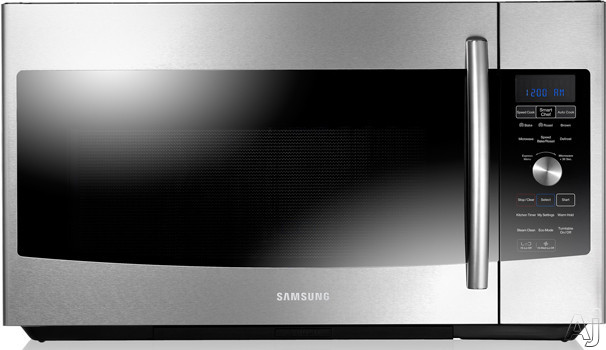 Samsung ME179KFETSR 1.7 cu. ft. Over the Range Microwave with 950 Watt Power Output, 10 Power, U.S. & Canada ME179KFETSR
