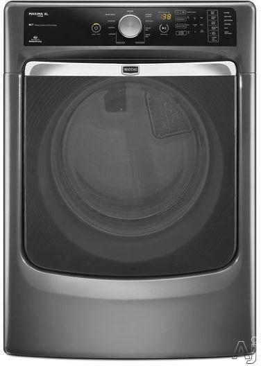 "Maytag Maxima Series MGD6000AG 27"" Gas Steam Dryer with 7.4 cu. ft. Capacity, AutoMoisture Sensing, U.S. & Canada MGD6000AG"