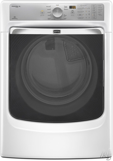 Maytag Med7000aw 27 Quot Electric Steam Dryer With 7 4 Cu Ft