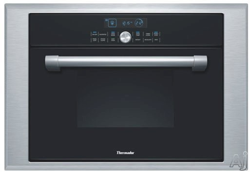 Thermador Masterpiece Series MES301HP 24 Inch Single Combination Steam/Convection Wall Oven with 1.4 cu. ft. Capacity, 40 EasyCook Programs, Steam Clean and Masterpiece or Professional Handle Options: