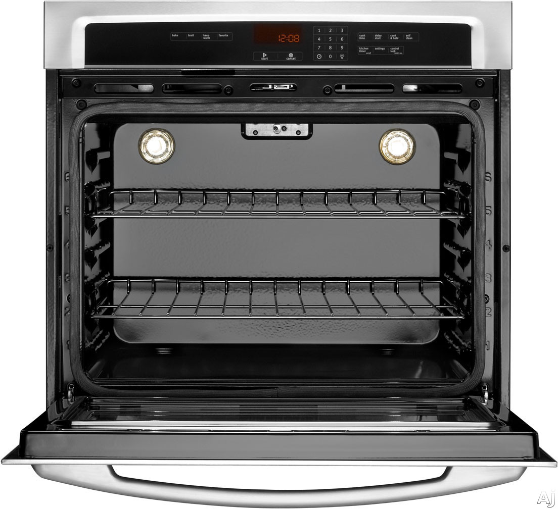 Maytag MEW7530AW 30 Inch Single Electric Wall Oven with 5 ...