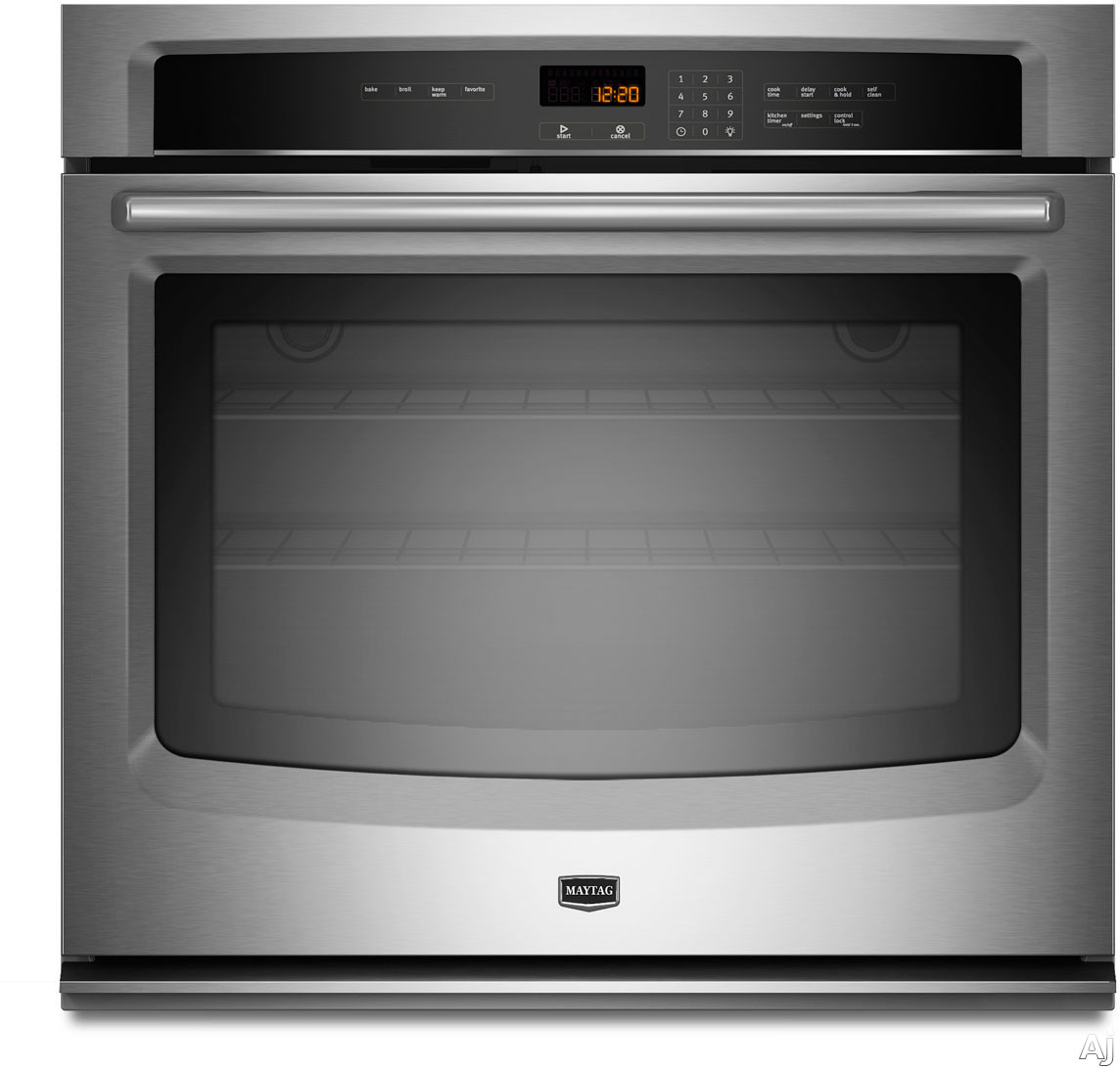 "Maytag MEW7530A 30"" Single Electric Wall Oven with 5.0 cu. ft. Capacity, Precise Cooking System, U.S. & Canada MEW7530A"