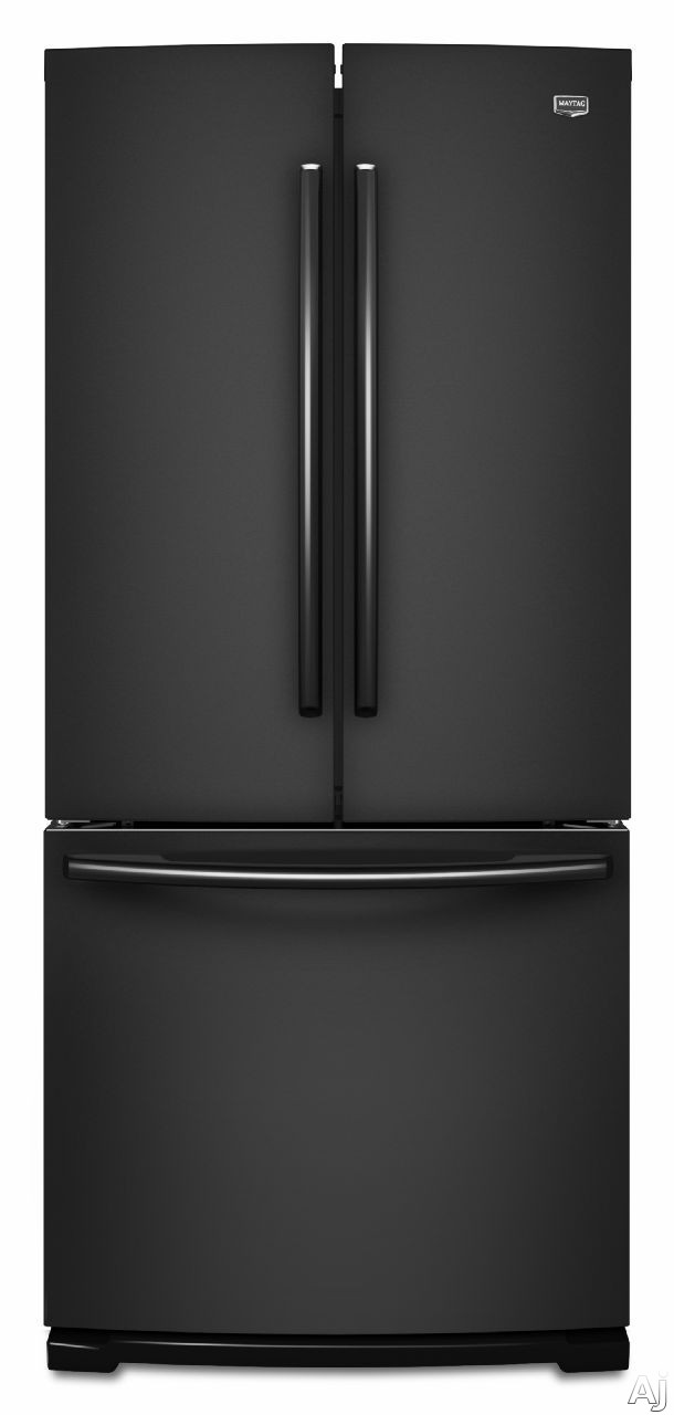 Bottom mount refrigerators maytag mfb2055yeb 19 6 cu ft for 19 6 cu ft french door refrigerator