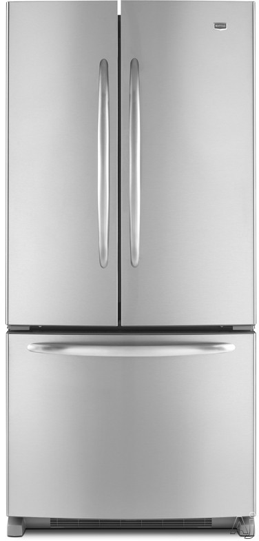Maytag MFF2258VE 22.0 cu. ft. French Door Refrigerator with Adjustable Spill-Catcher Glass Shelves, U.S. & Canada MFF2258VE