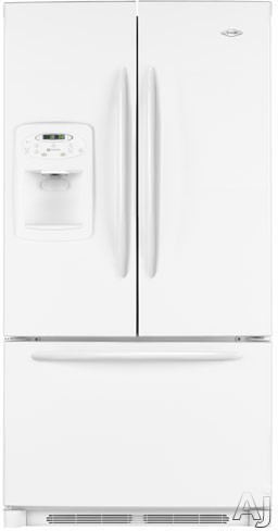 Maytag Mfi2067ae 20 0 Cu Ft Counter Depth French Door Refrigerator With 3 Slide Out