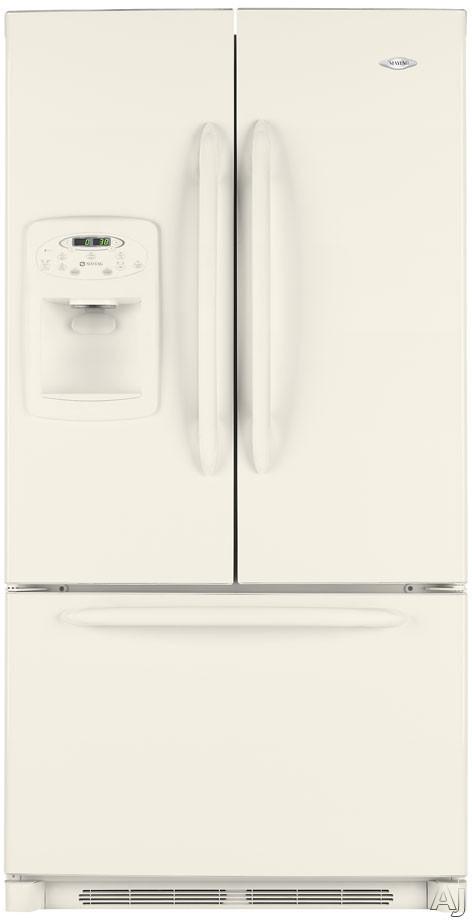 French Door Refrigerators Bisque French Door Refrigerator External Ice