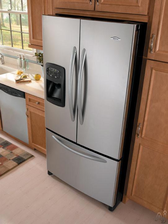 Maytag Mfi2568ae 24 9 Cu Ft French Door Refrigerator