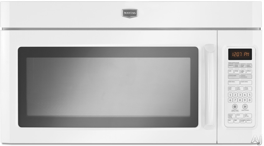 Maytag MMV6180WW 1.8 cu. ft. Over-The-Range Microwave with 1100 Watts, Five-Speed 300 CFM Venting, U.S. & Canada MMV6180WW