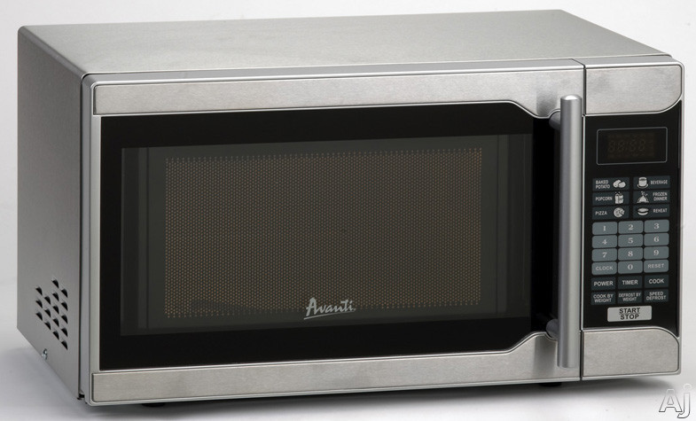 Avanti MO7003SST 0.7 cu. ft. Countertop Microwave Oven with 700 Watts Cooking Power, One Touch Cooking Programs, Speed Defrost and Cook/Defrost By Weight