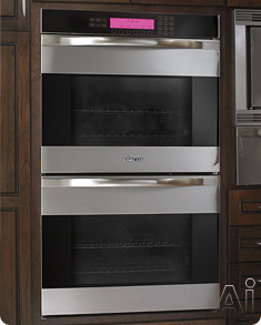 Wall Oven with Horizontal Stainless Steel Trim