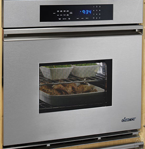 Dacor Classic Millennia MORS130 30 Single Electric Wall Oven with 3.9 cu. ft. Pure Convection Oven, U.S. & Canada MORS130