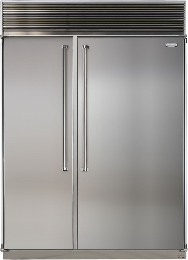 Marvel Mpro60css 60 Quot Built In Side By Side Refrigerator
