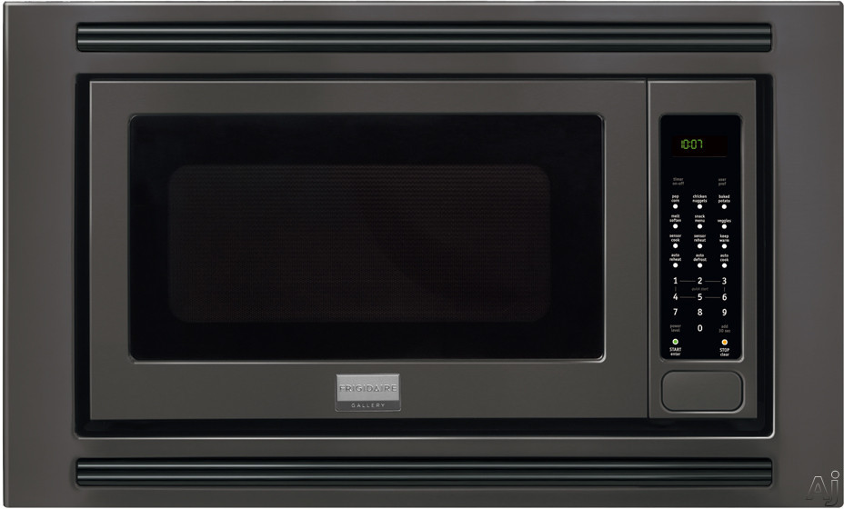 Frigidaire Gallery Series FGMO205KB 2.0 cu. ft. Countertop Microwave Oven with 1,200 Cooking Watts, Sensor Cook, 3 Auto Cook Options, 7 User Preference Options, One-Touch Keep Warm Setting, Fits-More Microwave and Effortless Reheat: Black