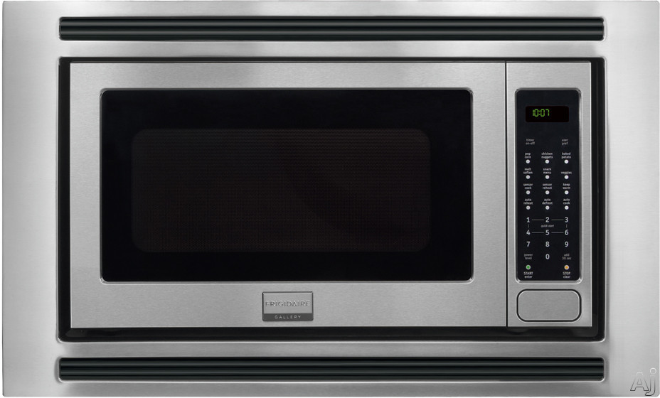 Frigidaire Gallery Series FGMO205K 2.0 cu. ft. Countertop Microwave Oven with 1,200 Cooking Watts, Sensor Cook, 3 Auto Cook Options, 7 User Preference Options, One-Touch Keep Warm Setting, Fits-More Microwave and Effortless Reheat