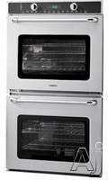 Capital Maestro Series MWOV302ES 30 Inch Double Electric Wall Oven with 4.5 cu. ft. Perfect Convection Ovens, Moist Assist, Rotisserie Motor, Meat Probe, Glass Oven Bottom and Glass Touch Control Panel MWOV302ES