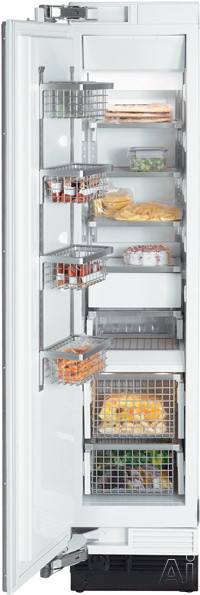 "Miele Independence Series F1411 18"" Built-in Fully Integrated All-Freezer with 8.04 cu. ft., U.S. & Canada F1411"