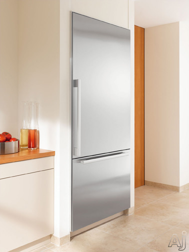 """Miele Independence Series KF1811SFSSL 30"""" Built-in Fully Integrated Bottom-Freezer Refrigerator with, U.S. & Canada KF1811SFSSL"""
