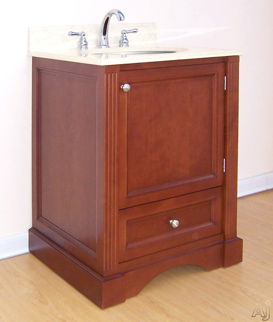 """Empire Industries Newport Collection N24C 24"""" Traditional Vanity with Cabinet Door, Drawer and, U.S. & Canada N24C"""