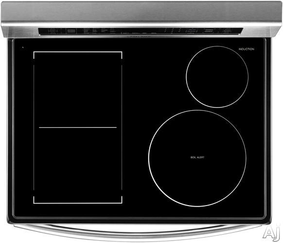 Samsung ne597n0pbsr 30 inch freestanding induction range Samsung induction range