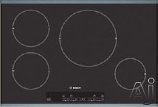 """Bosch Cooktop - Bosch NIT Induction Cooktop Series NIT8053UC 30"""" Induction Cooktop With 4 Cooking Zones Touch Control With 17 Power Levels Child Lock And Automatic Shut-Off S"""