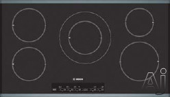 """Bosch Cooktop - Bosch NIT Induction Cooktop Series NIT8653UC 36"""" Induction Cooktop With 5 Cooking Zones Touch Control With 17 Power Levels Child Lock And Automatic Shut-Off S"""