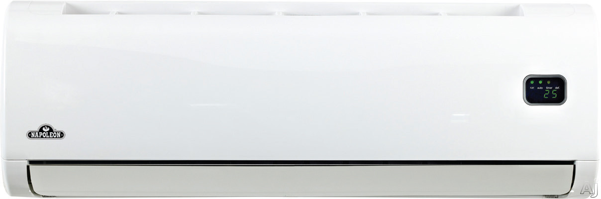 Napoleon NLIS24F 24,000 BTU Single Zone Wall-Mount Ductless Split System with 25,000 BTU Inverter, U.S. & Canada NLIS24F