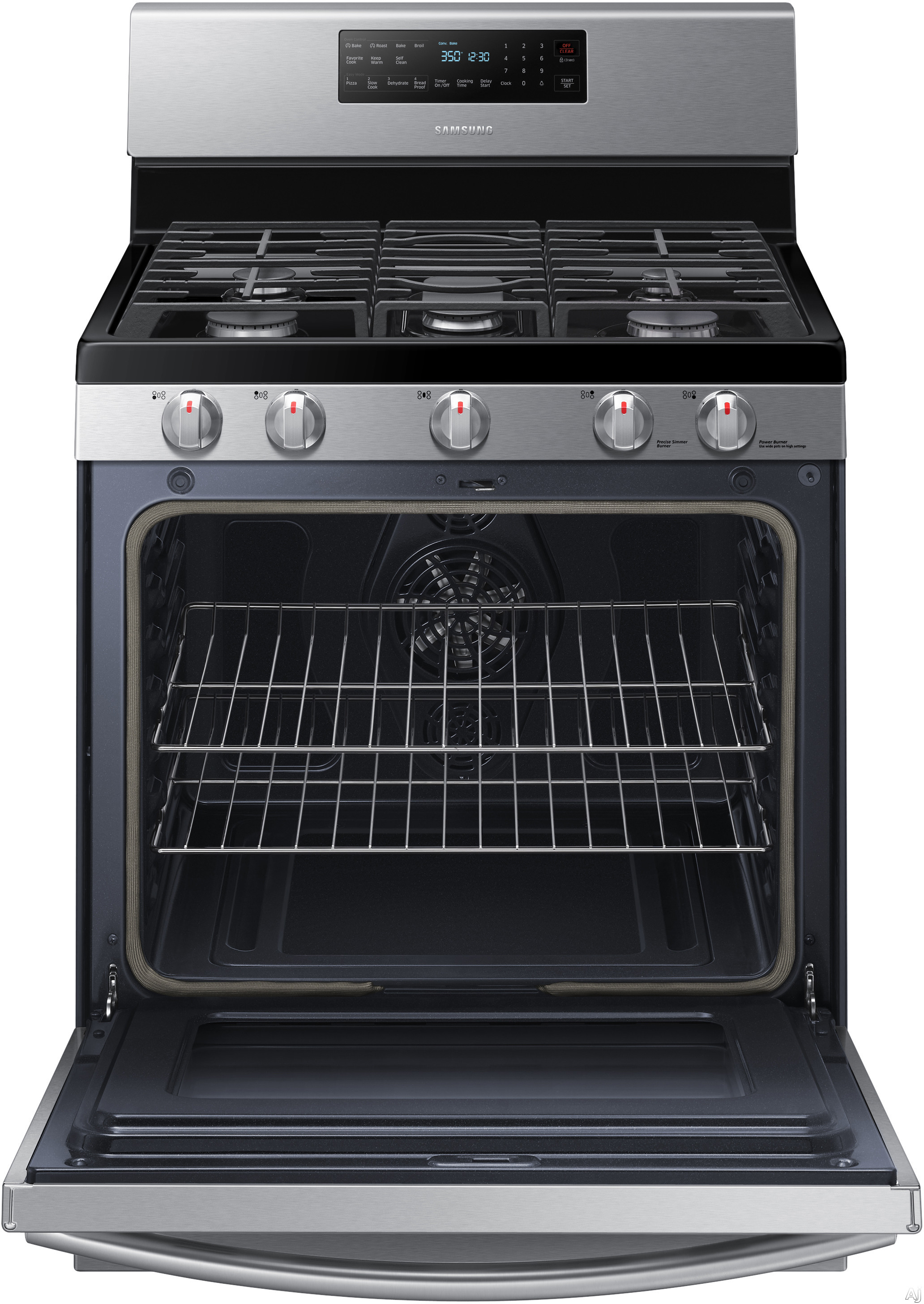Samsung Nx58h5600ss 30 Quot Freestanding Gas Range With 5