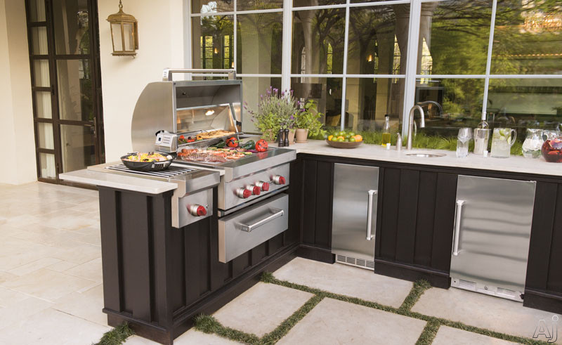 Wolf Og36 36 Quot Built In Gas Grill With 25 000 Btu Burners