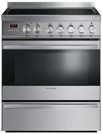 "Fisher & Paykel OR30SDPWIX1 30"" Freestanding Induction Range with 4 Heating Zones, 3,700 Watt PowerBoost, 3.6 cu. ft. Convection Oven, Pyrolytic Self-Clean, 7 Cooking Modes and Warming Drawer"
