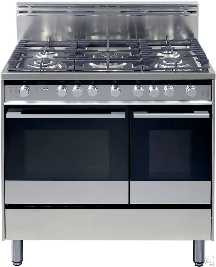 Fisher Amp Paykel OR36LDBGX1 36 Pro Style Gas Range With 5