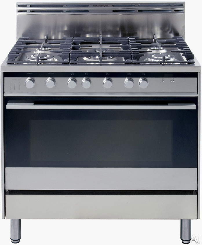 Fisher Amp Paykel OR36SDBGX2 36 Pro Style Gas Range With 5