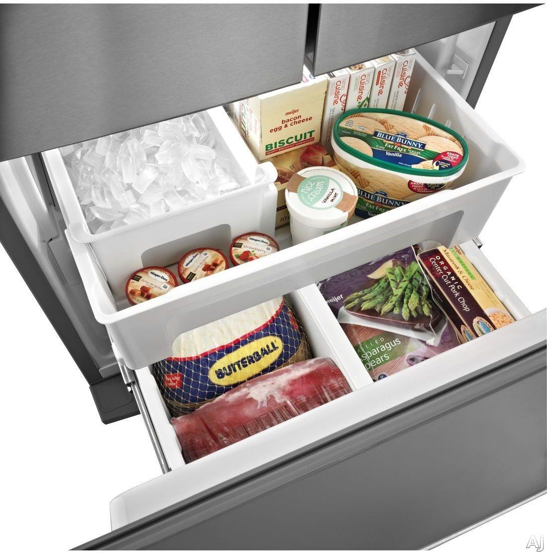 Maytag mfw2055yem 19 6 cu ft french door refrigerator for 19 6 cu ft french door refrigerator