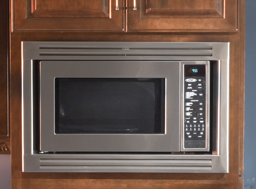 Countertop Convection Microwave With Trim Kit : ... , Broil Option and Convection System (shown with optional trim kit
