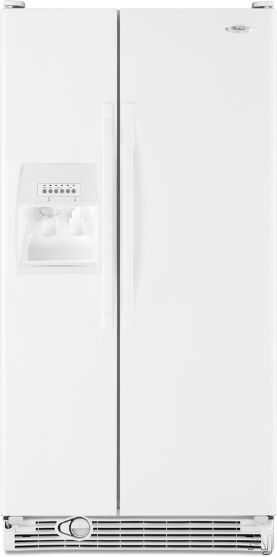 Whirlpool ED5KVEXVQ 25.3 cu. ft. Side by Side Refrigerator with 3 Adjustable Slide-Out SpillGuard, U.S. & Canada ED5KVEXVQ
