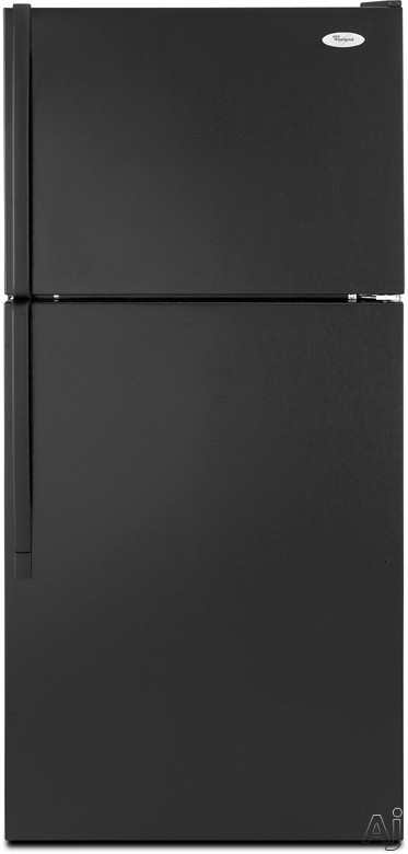 Whirlpool W8TXEWFYB 17.6 cu. ft. Top-Freezer Refrigerator with Full-Width Wire Shelves, Clear, U.S. & Canada W8TXEWFYB