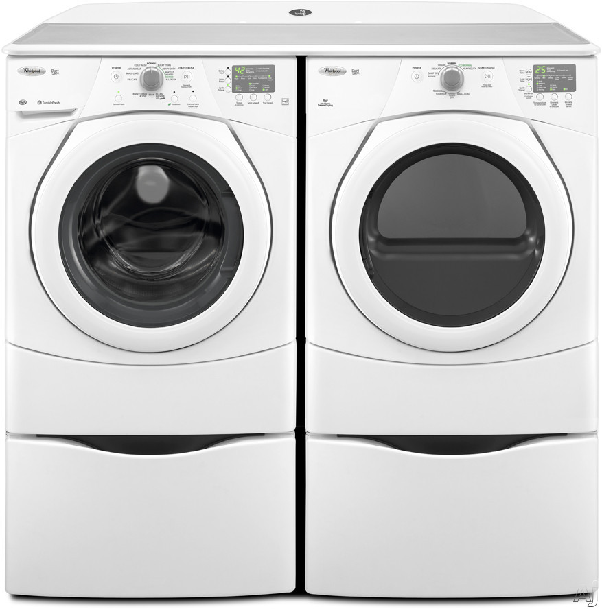 "Whirlpool WFW9151YW 27"" Front-Load Washer With 3.5 Cu. Ft"