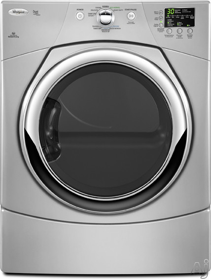 """Whirlpool Duet WGD9371Y 27"""" Gas Dryer with 6.7 cu. ft. Capacity, 9 Dry Cycles, Quick Refresh / Steam, U.S. & Canada WGD9371Y"""
