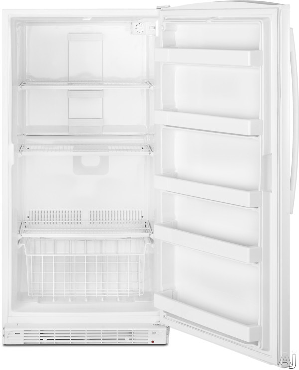 Whirlpool Wzf56r16dw 16 Cu Ft Upright Freezer With 3