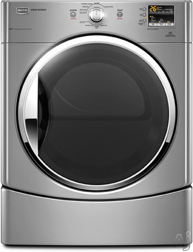 "Maytag Performance Series MEDE201Y 27"" Electric Dryer with 6.7 cu. ft. Capacity, 9 Wash Cycles, 5, U.S. & Canada MEDE201Y"
