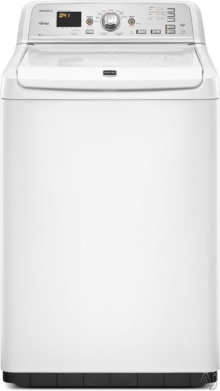 """Maytag Bravos Series MVWB750YW 28"""" Top-Load Washer with 4.6 cu. ft. Capacity, 10 Wash Cycles, U.S. & Canada MVWB750YW"""