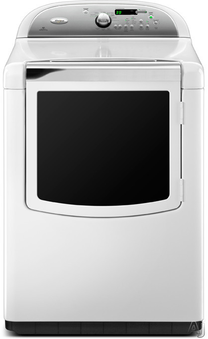 "Whirlpool Cabrio WED8800YW 29"" Electric Dryer with 7.6 cu. ft. Capacity, 14 Dry Cycles, 2 Steam, U.S. & Canada WED8800YW"