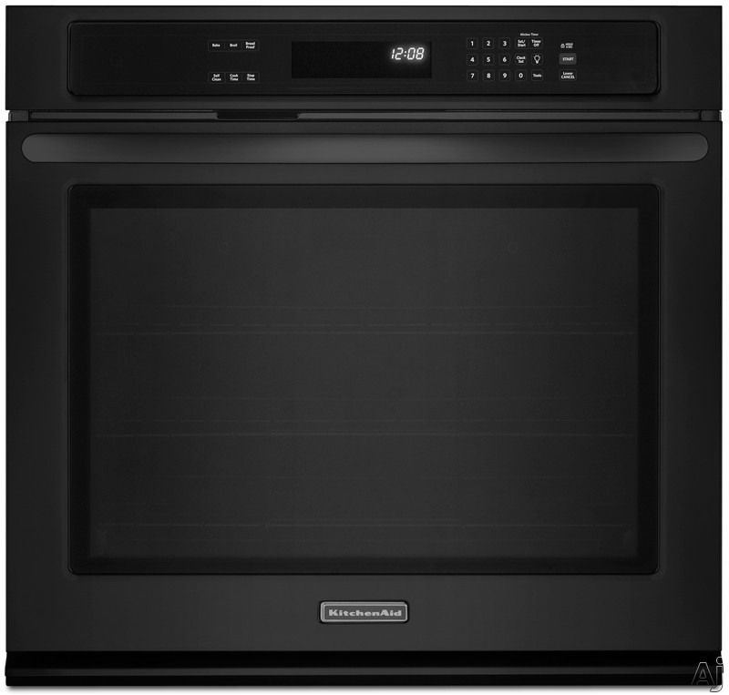 "KitchenAid Architect Series II KEBK101BBL 30"" Single Thermal Electric Wall Oven with 5.0 cu. ft., U.S. & Canada KEBK101BBL"