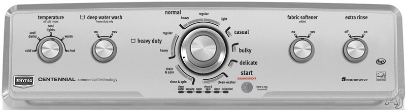 Maytag Mvwc350aw 27 Quot Top Load Washer With 3 4 Cu Ft