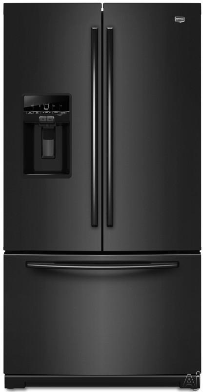 Maytag Ice2O Series MFT2976AEB 29 cu. ft. French Door Refrigerator with Spill-Catcher Glass Shelves, U.S. & Canada MFT2976AEB