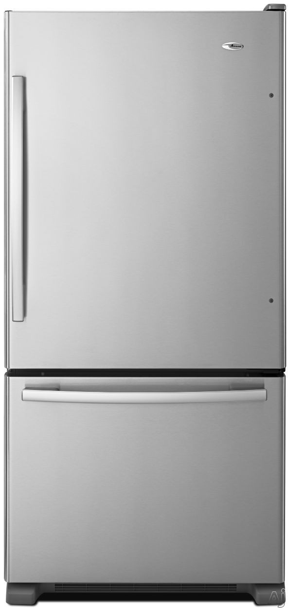 Amana ABB2224BR 219 cu ft Bottom Freezer Refrigerator with Spillsaver Glass Shelves Adjustable Door Bins Easyfreezer Pull out Drawer and ENERGY STAR Qualified