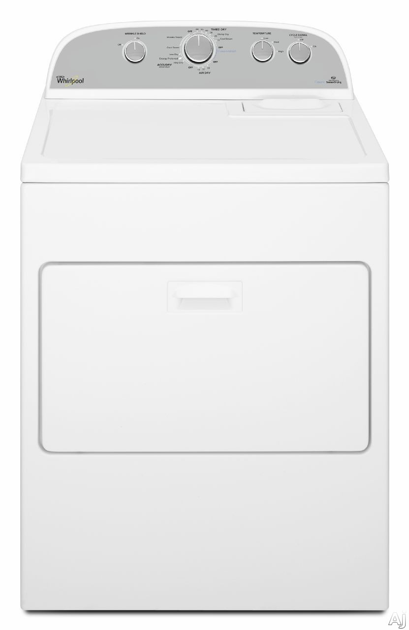 Whirlpool Wed49stbw 30 Quot 7 0 Cu Ft Electric Dryer With 13