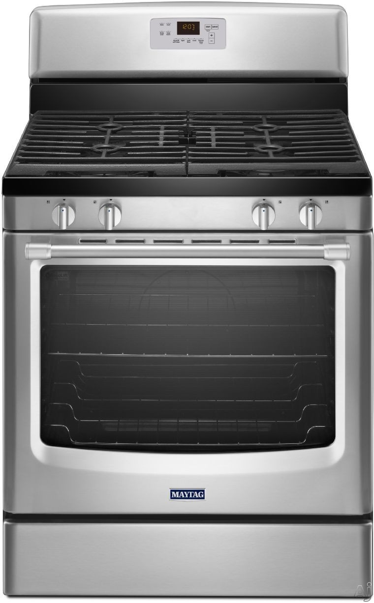 Maytag sealed burners usa - Clean gas range keep looking new ...