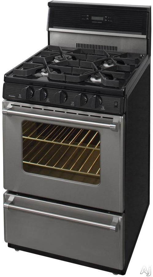 Premier P24s3402p 24 Inch Freestanding Gas Range With 4